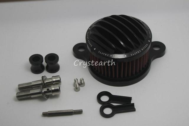 Motocicleta CNC Artesanato sistema de Filtro de Ar + Filtro de Entrada Para HD Harley Davidson Sportster 2004-2014 XL