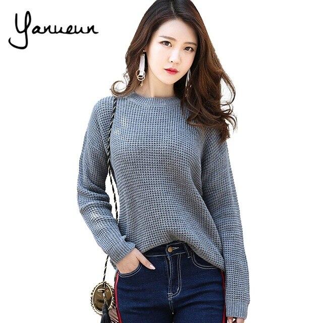 Yanueun Korean Fashion Sweater Shirt Women Jumper 2017 Autumn ...