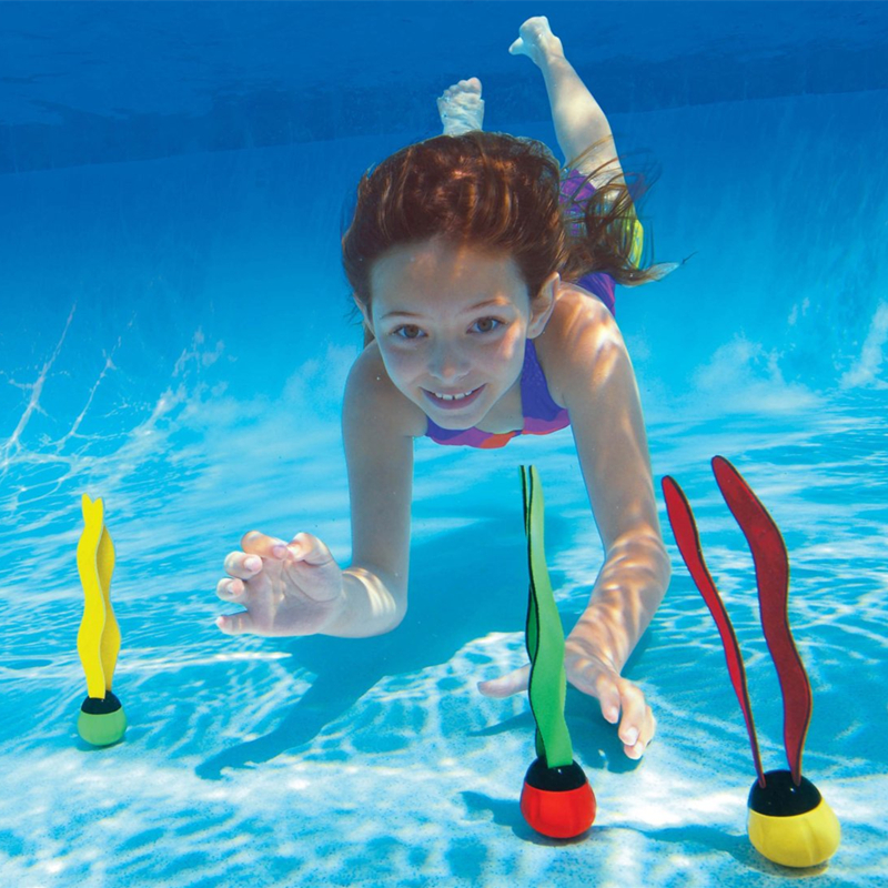 1pcs Free Shipping Kids Summer Swimming Teaching Toy Torpedo Rocket Throwing Toy Outdoor Funny Children Underwater Dive Toy #YL