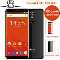 OUKITEL C8 5 5 LTE 4G Smartphone 18 9 Aspect Ratio Android 7 0 2GB 16GB