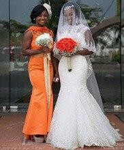 Custom Made Mermaid Sleeveless Hippie Style Wedding Dresses Vestido Noiva Renda Plus Size KS37