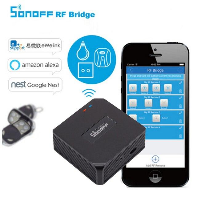 Sonoff RF Bridge Smart Home Control WiFi 433Mhz Replacement Wireless ...