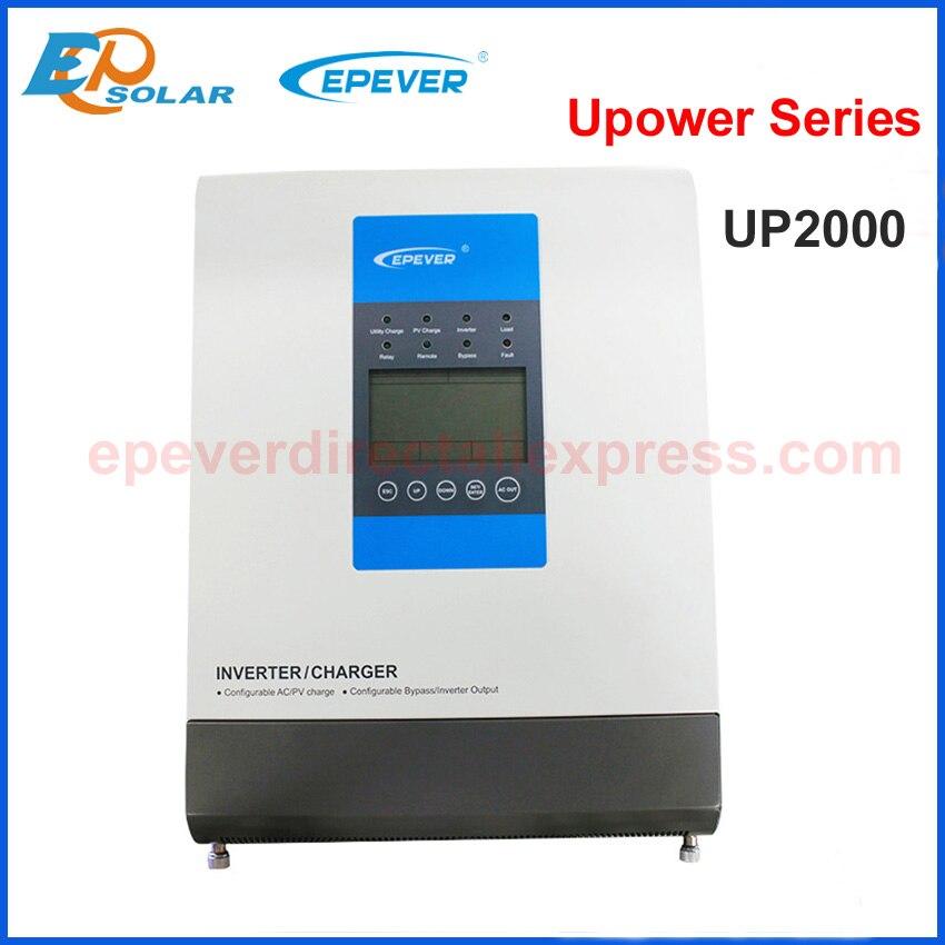 цена на 2000VA Inverter Charger Solar Inverter 24V 220V 30A MPPT solar PV battery charger Pure Sine Wave Inverter Off Grid Tie system
