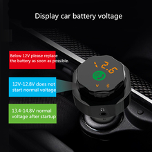 цена на Wireless Bluetooth FM Transmitter Adapter MP3 Player Hands-free Car Kit FM Modulator Support U disk TF Card Dual Car Charger