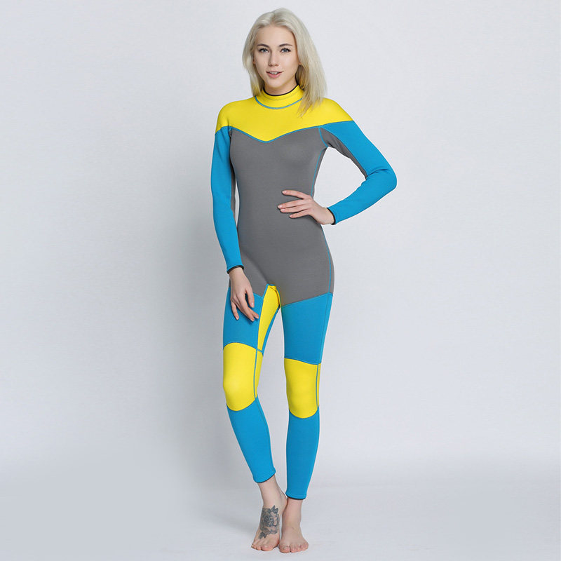 Women's Spearfishing Wetsuit 3MM Neoprene SCR Superelastic Diving Suit Waterproof Warm Professional Surfing Wetsuits Full Suit sbart camo spearfishing wetsuit 3mm neoprene camouflage wetsuit professional diving suit men wet suits surfing wetsuits o1018