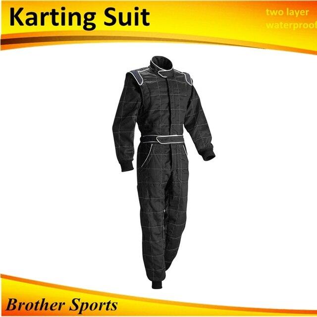 karting suit black