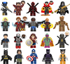 NEW Super Heroes LEGOED Marvel Avengers Infinity War Iron Man Thanos Thor Hulk Building Blocks toy