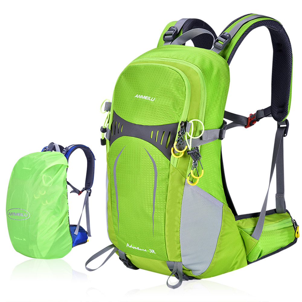 30L Hiking Backpack with Internal Frame Waterproof Lightweight Outdoor Sport Travel Daypack Bag for Women Men