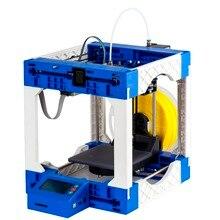 Легко DIY Портативный 3d-принтер Образовательных Настольные 3 D Принтер Печати Размер 125X130X160 мм 4 ГБ SD Карты и PLA как Подарок Бесплатную Доставку
