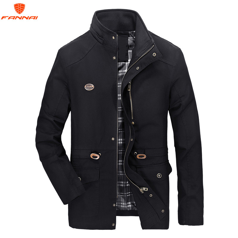 HFNF Spring and Autumn Jacket Men Cowboy Casual Jacket Men s Autumn Top Wear Outwaer Male