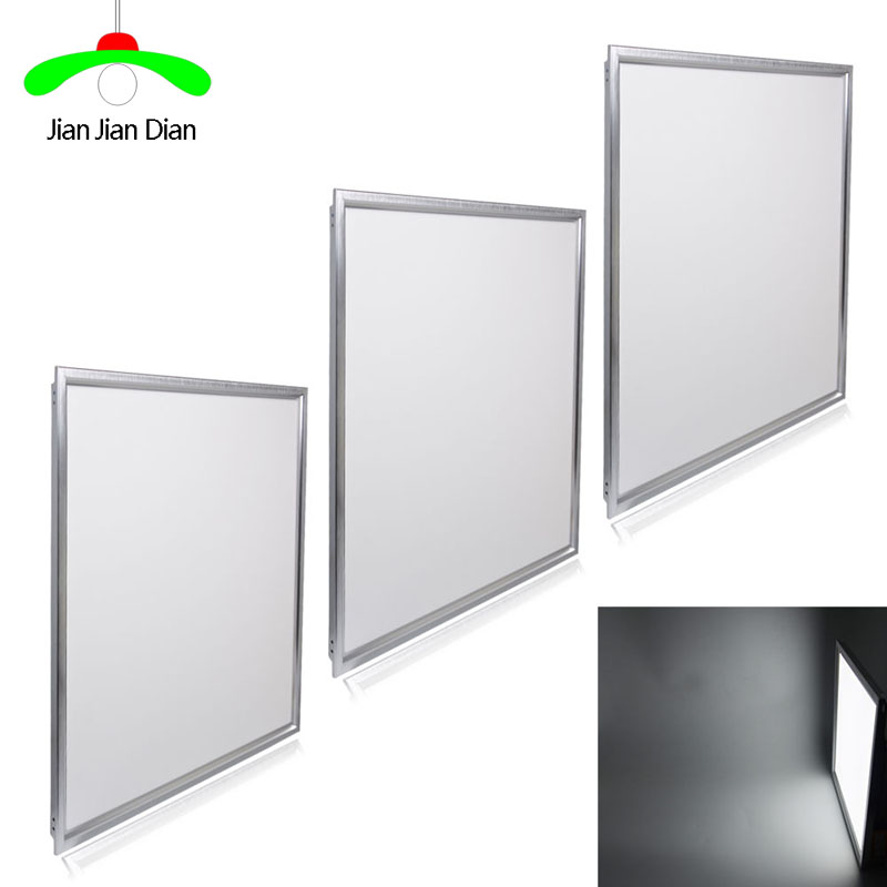 2pcs led panel 600mmx600mm 48W Suspended LED Ceiling Light Panel Flat Downlight cool white warm white lamp