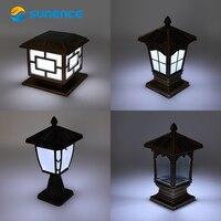 Sunence Wall Lamp Post European Square Lamps LED Outdoor Courtyard Gate Lights Villa Garden Waterproof Post Light