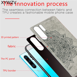 Image 3 - Huawei P30 Pro a prueba de golpes suave TPU paño de silicona textura dura PC funda de teléfono para Huawei P30 Pro contraportada Huawei p30 Pro Fundas
