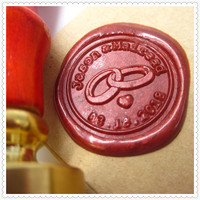 Customize Letter Initials Your Own Name Box Gift Set Personalized Sealing Wax Wedding Wax Seal Stamp