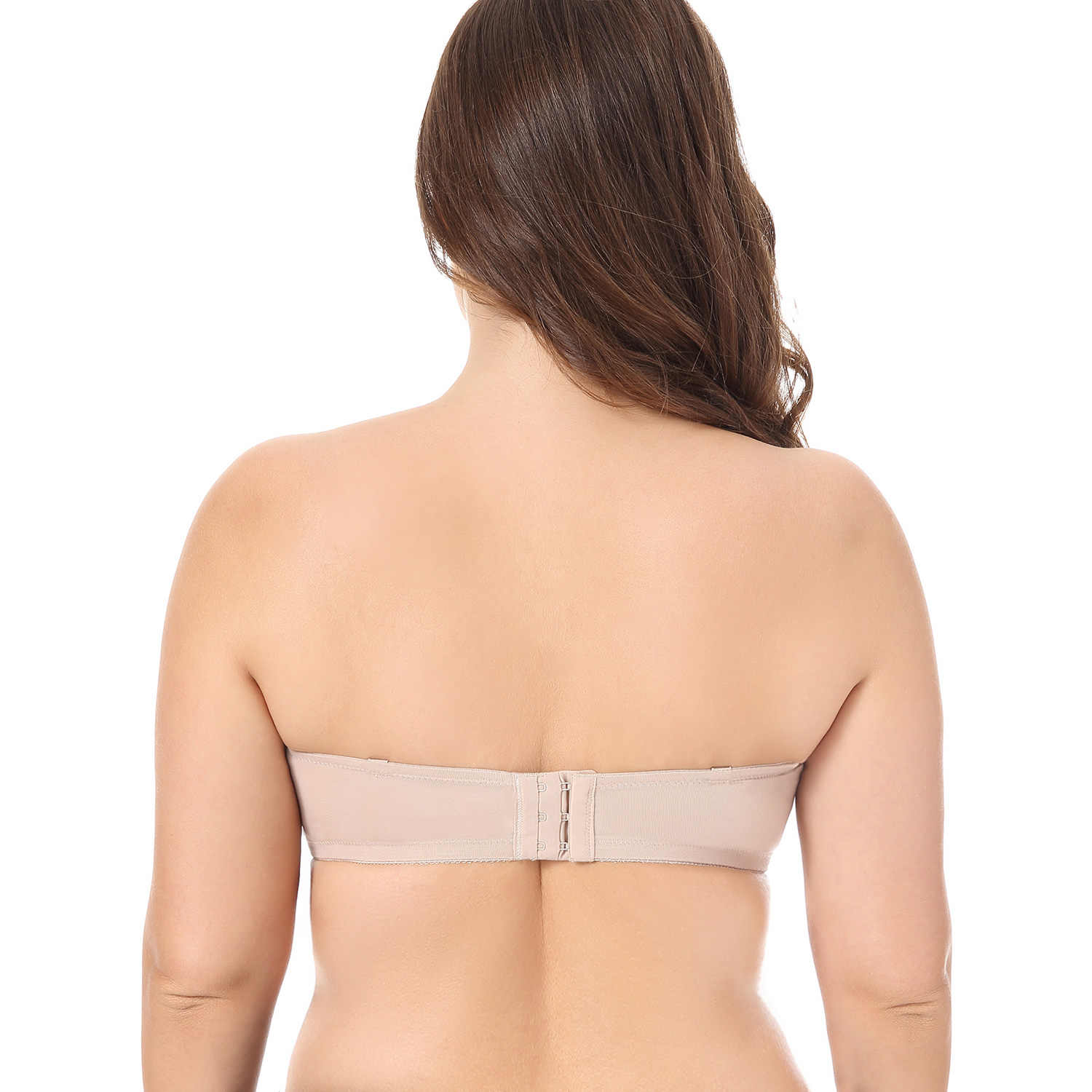 184752e8a01 ... Strapless Bra  Women s Multiway Smooth Underwire Convertible Straps Non  Padded Plus Size Strapless ...