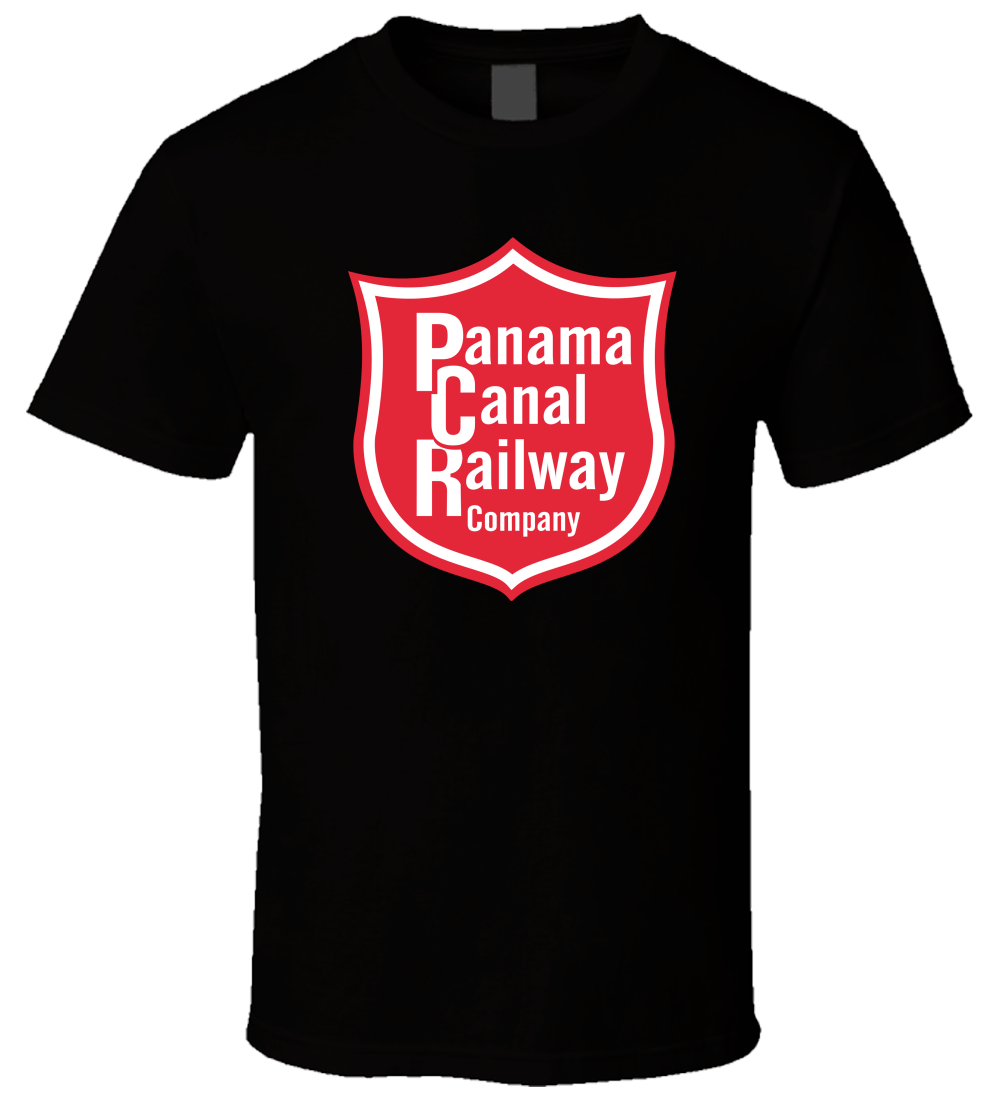 Panama Canal Railway 1 Black Men Comfortable Cotton T Shirt Size S - 5XL O-Neck Sunlight Men T-Shirt top tee