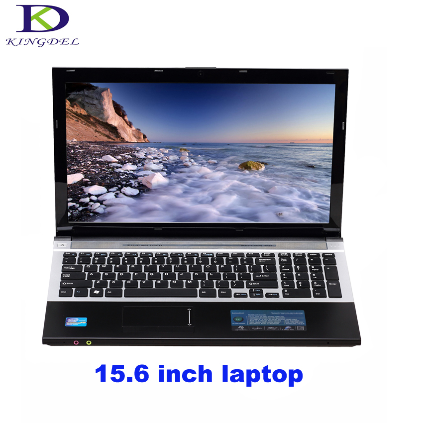 Hot selling Quad Core 15.6 laptop computer windows 7 Intel HD Graphics 2.1GHz up to 2.42GHz 8G RAM 1TB HDD Netbook Bluetooth pc 8g ddr3l ram 1tb hdd windows 10 mini pc intel quad core 4k hd htpc tv box supporting android and linux dhl free shipping