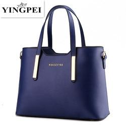 Для женщин Курьерские сумки Повседневное Tote Женственный топ-ручка Роскошные Сумки Для женщин сумки дизайнер высокое качество плечо