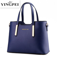 2015 New Design Women Messenger Bags Vintage PU Leather Handbag High Quality Tote Bag Women S
