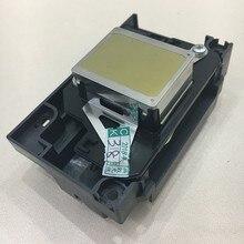 Große Förderung F173080 F173090 Original Druckkopf für Epson R265 R270 1390 1400 1410 1430 1500 W L1800 RX580 Druckkopf