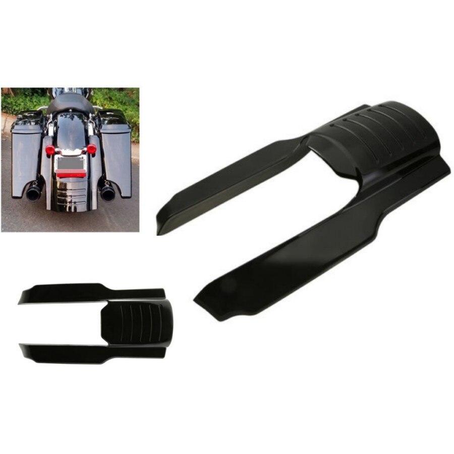 7 Black Rear Fender Extension Filler Fit For Harley Electra Glide Road Glide Motorcycle Parts
