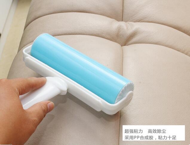 Очищающие щётки пыли сушильный Lint ролики моющиеся электростатического пыли Кисточки к Кисточки Одежда липкие волосы устройства
