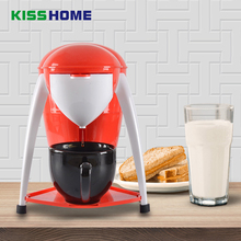 Drip-type American Espresso Coffee Maker Household Portable Tea Automatic Mini Milk with Cup
