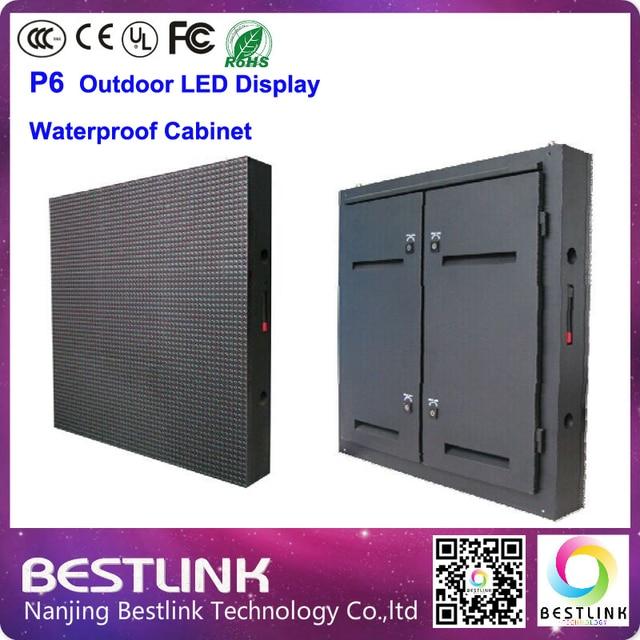 P6 открытый водонепроницаемый кабинет rgb из светодиодов экран видеостены 960 * 960 мм шкаф с SMD3535 из светодиодов дисплей модуль из светодиодов экран на сцене доска