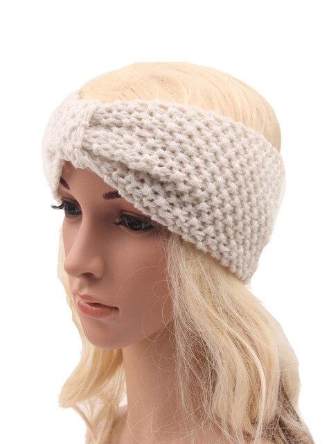 Einzelhandel Mode Stirnband boho winter turban Dame strick häkeln ...