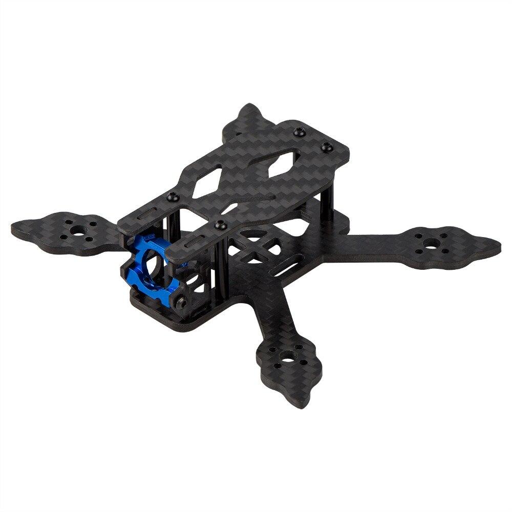 Micro Racing Quadcopter Kit Carbon Fiber Quadcopter Frame 90mm Wheelbase - Support 1104 1106 Brushless Motor HOBBYMATE halo 90 90mm mini brushless fpv multirotor racing frame 28g carbon fiber
