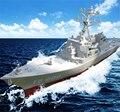 Navio brinquedos das crianças aviões battleship navio de guerra modelo militar modelo míssil destroyers terminou com suporte