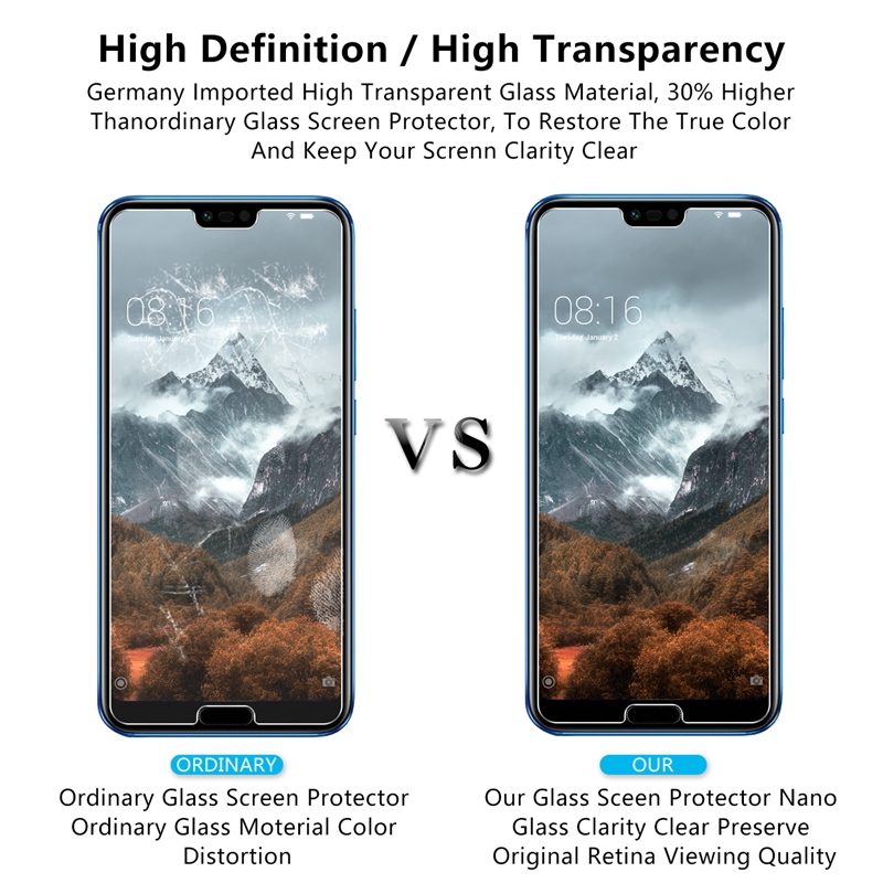 0 26m 9H 2 5D PremiumTempered Glass For Huawei Mate 20 Pro Screen Protector for Huawei Mate 20 Lite Mate 20 protective film in Phone Screen Protectors from Cellphones Telecommunications