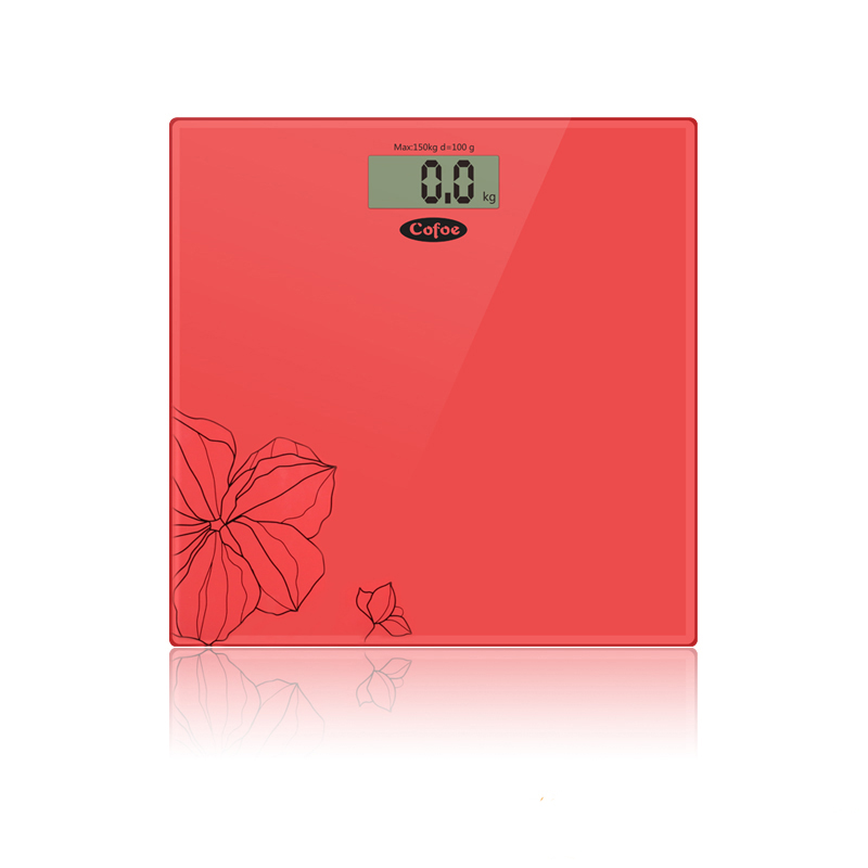 Bathroom Floor Body Scale Glass Smart high Precision Household Electronic 330lb Digital Weight Balance Bariatric LCD Display