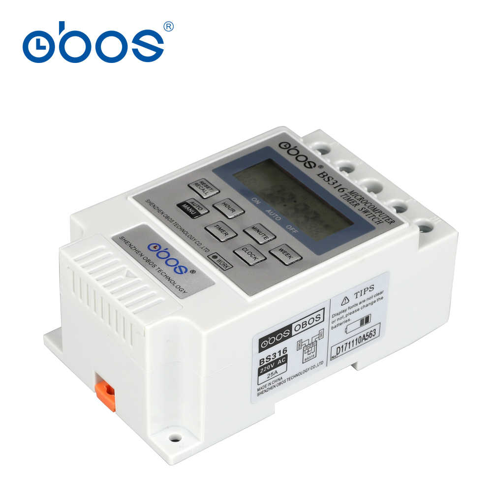 beautiful good quality good price 220V timer switch relay 24 hours timer switch with 10 times on/off time set range 1min-168H