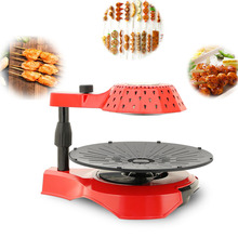 Electric BBQ Grill Travel Mini Barbecue Machine Grill Electric Hotplate Smokeless Grilled Meat Pan Easy To Carry