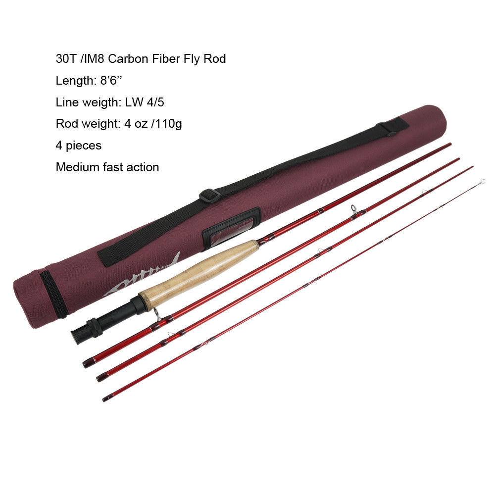 Aventik IM8 Carbon Fiber 8.6ft 9ft 10ft Freshwater Fly Fishing Nymph Rods Creek And River Trout Fly Rod With Cordura Tube aventik im8 carbon fiber 8 6ft 9ft 10ft freshwater fly fishing nymph rods creek and river trout fly rod with cordura tube