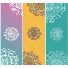 2017 nova edição yoga mat toalha de impressão esporte de fitness ginásio exercício de treinamento de pilates portátil cobertura de cobertura cobertor toalha macia
