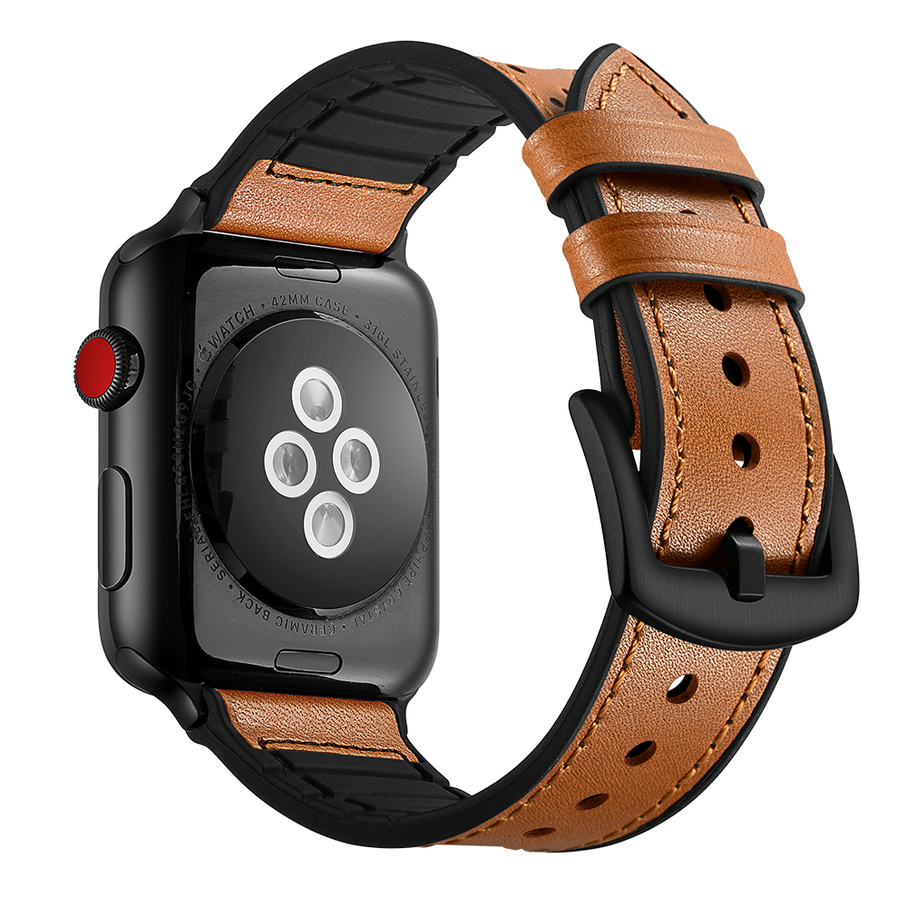 Apple Watch Band Brown 3
