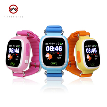 2016 Smart Baby Watch GPS Tracker for Kids 1.22 Touch Screen Smartwatch Anti Lost With SOS baby gift Q90 With WIFI Positioning