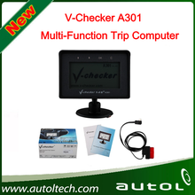 V-CHECKER VCHECKER OBD2 OBD Diagnostic Tool A301 Multi-Function Trip Computer New scan tool best price