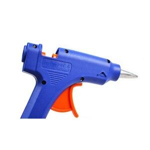 Image 4 - DEKO 20W Spina di UE Hot Melt Pistola di Colla con 7 millimetri Colla Stick Industriale Mini Pistole Termo Elettrico di Calore strumento di temperatura