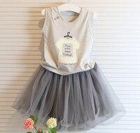 2016 Retailer Spring Summer Sweet Toddler Cotton Baby Girls Dress Ruffles Casual Fashion Dresses Easter Dress
