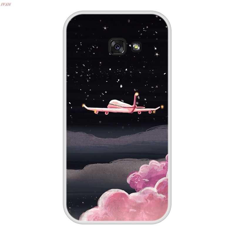 Per Il caso di Samsung Galaxy A5 2017 Molle Del Silicone di TPU Design Fresco Modello di Stampa Coque Per Samsung Galaxy UN 5 2017 copertura Della Cassa del telefono
