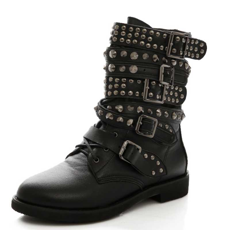 Fantastic Military Boots For Women Womens Lace Up Military Style Boots