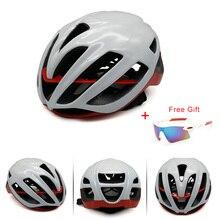 Fahrradhelme Mountainbike Helm Ultraleicht Integral geformten 22 farbe Erwachsene Matte marke 230/M 260/L radfahren Helme