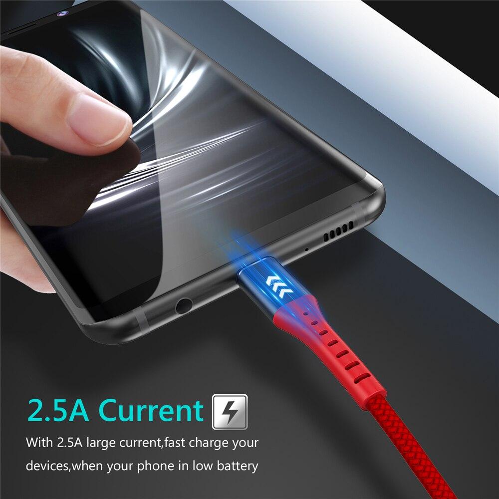 5V2A Micro USB Καλώδιο, Tiegem Γρήγορη Φόρτιση - Ανταλλακτικά και αξεσουάρ κινητών τηλεφώνων - Φωτογραφία 3