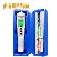 CT 6821 ph tester meter swimming pool tester orp water quality meter tester aquarium ph meter orp ph 2in1