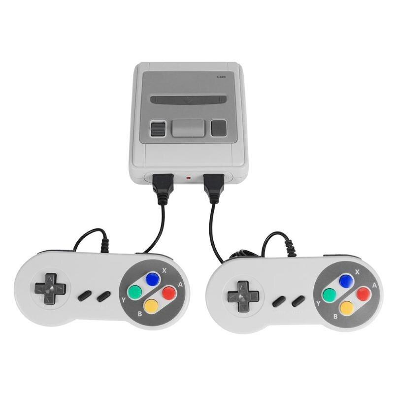 621 jogos infância retro jogo mini clássico 4 k tv av/hdmi 8bit vídeo game console jogador de jogos handheld com 2 gamepad dropship