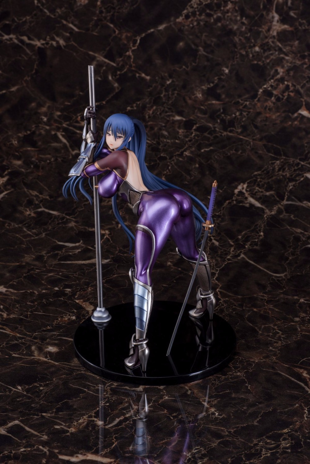 цены Calede 25cm Japanese sexy anime figure Queen Ted Akiyama rinko Pole Dancing action figure collectible model toys for boys