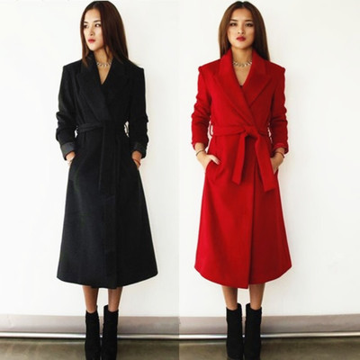 Red Oversized Coat Promotion-Shop for Promotional Red Oversized ...